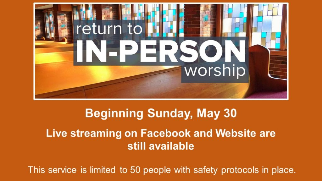In Person Worship Return