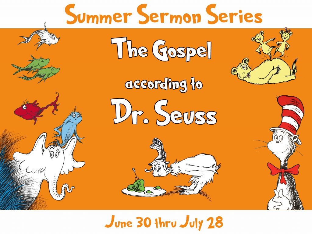 Gospel Seuss-info slide